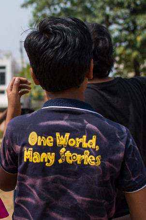 One world, many stories.