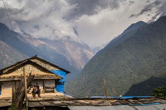 On Ghandruk. Nepal, 2019.