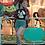 Thumbnail: Cute Kawaii Ghost Organic Crop Top