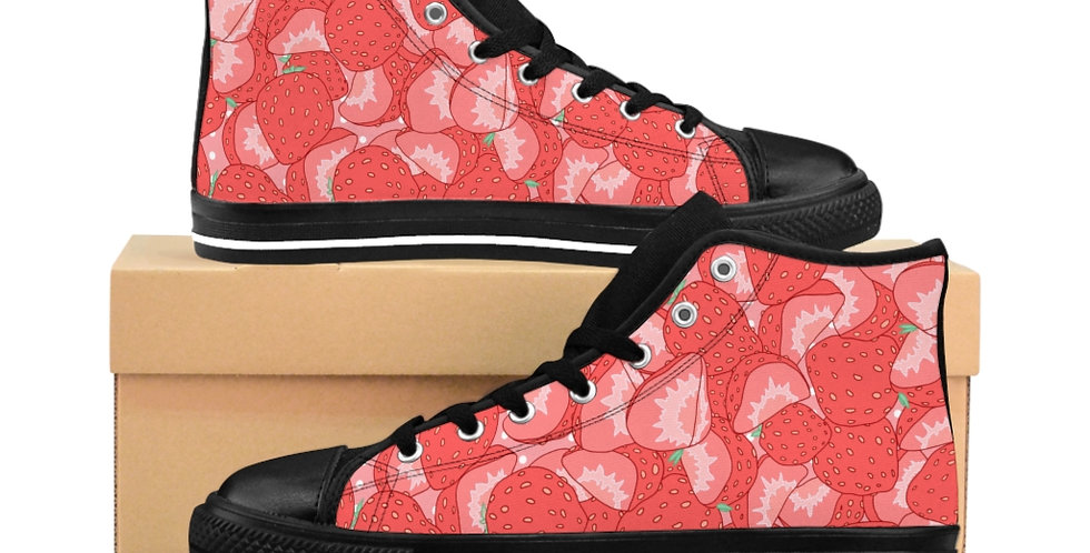 Strawberry High Top Sneakers