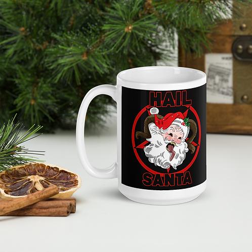 Hail Santa Christmas Mug
