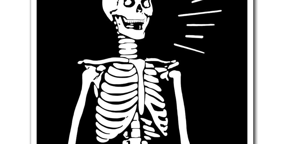 Gothic Skeleton Magnet