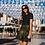 Thumbnail: Gothic Gold Web Skater Skirt