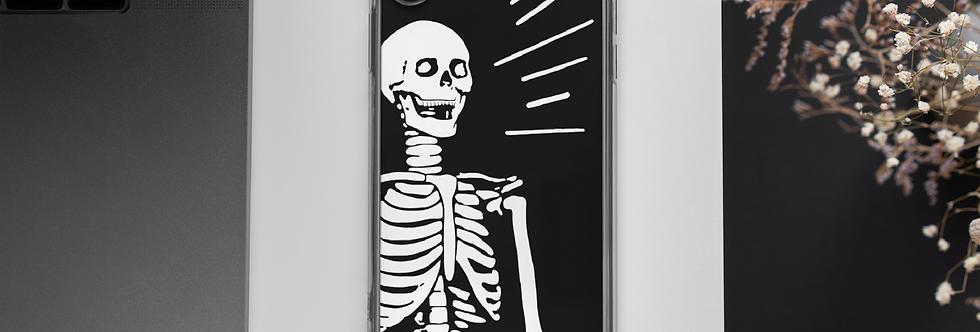 Memento Mori Skeleton Phone Case