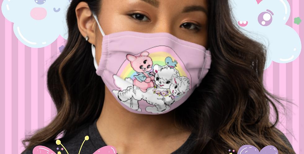 Too Kawaii To Die face mask