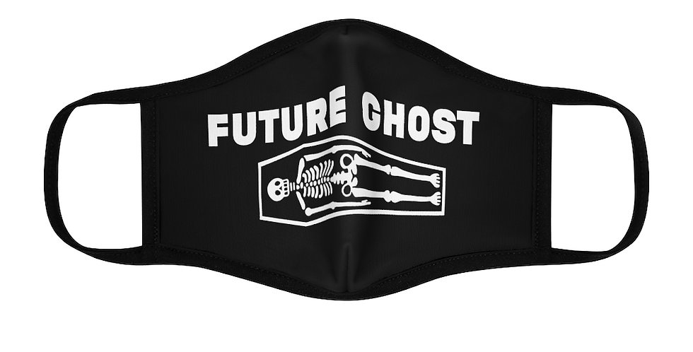 Future Ghost Fitted Polyester Face Mask