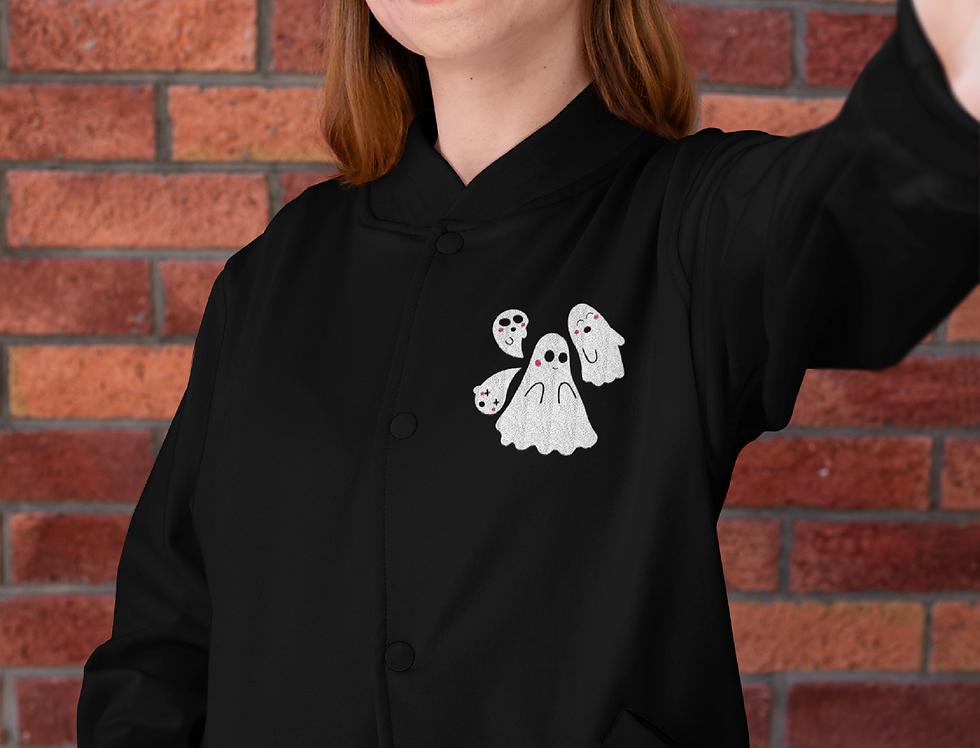 Kawaii Embroidered Champion Bomber Jacket
