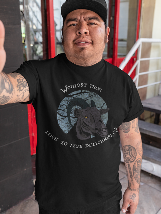 Black Phillip The Witch Unisex T Shirt