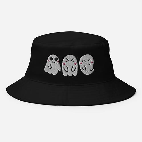 Cute Kawaii Ghost Bucket Hat