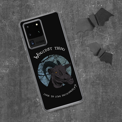 Black Phillip Samsung Case