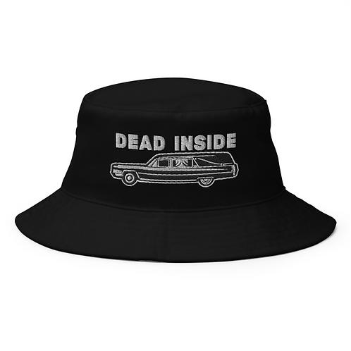 Dead Inside Bucket Hat - Gothic Bucket Hat - Alternative Hat