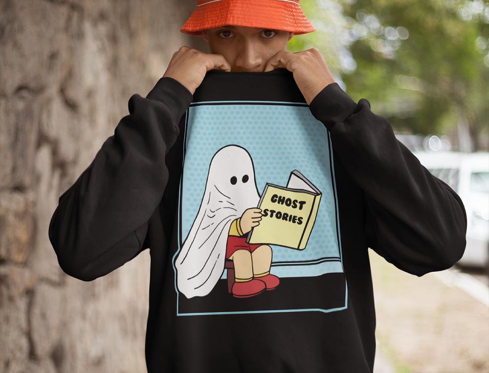 Cute Vintage Ghost Sweater
