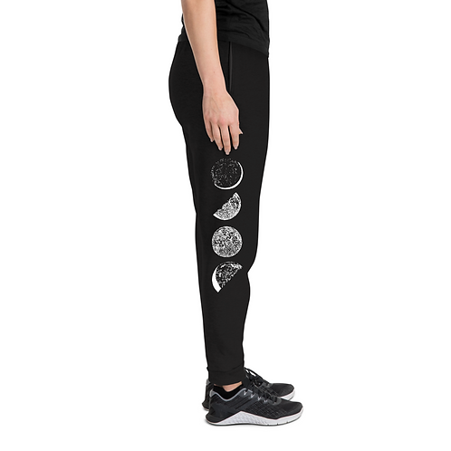 Crescent Moon Cycle Unisex Joggers