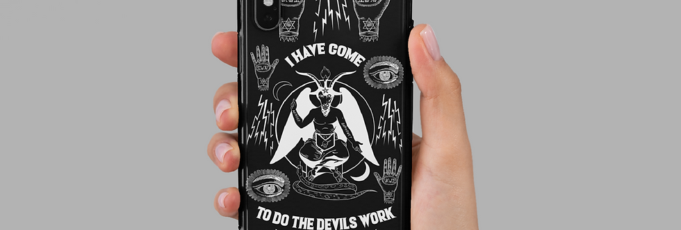 Vintage Occult iPhone Case
