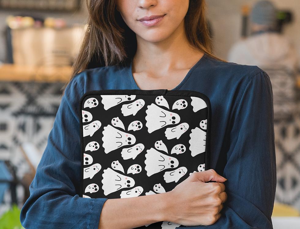 Cute Kawaii Ghosts Laptop MacBook Sleeve