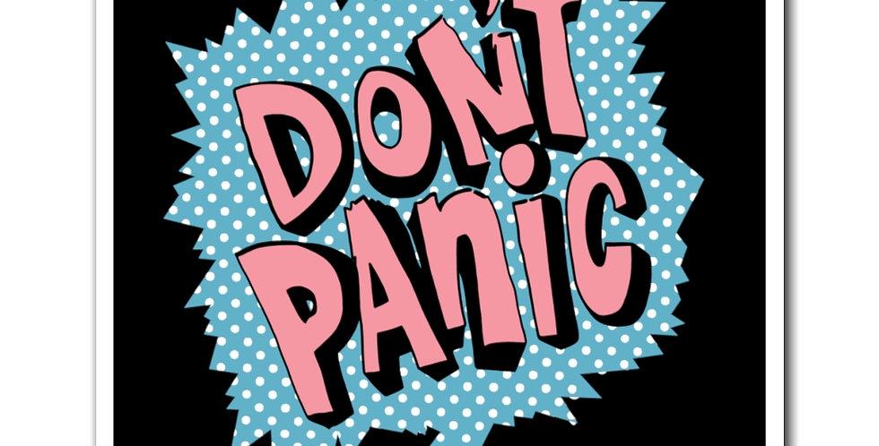 Don't Panic Retro Magnet