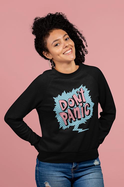 Don't Panic Vintage Sweatshirt