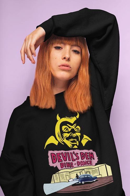 Retro 50's Rockabilly Devil's Den Sweatshirt