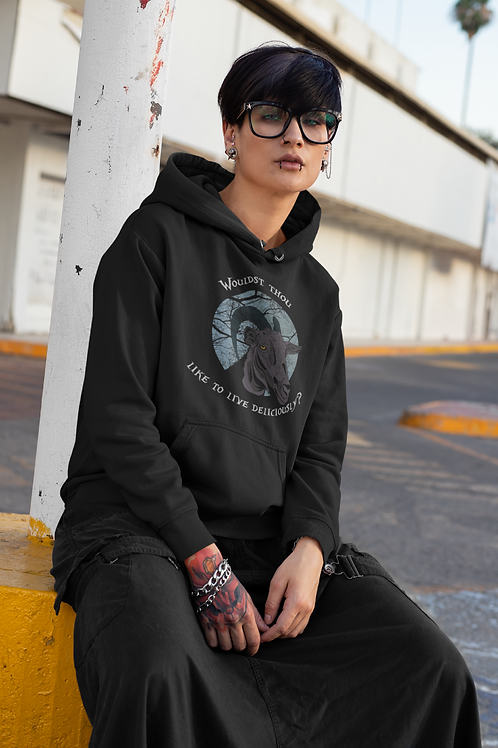 Black Phillip The Witch Hoodie