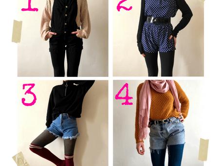 Šaty, sukně, kraťasy nebo snad overal v zimě?