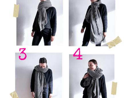 Jak vázat šálu?