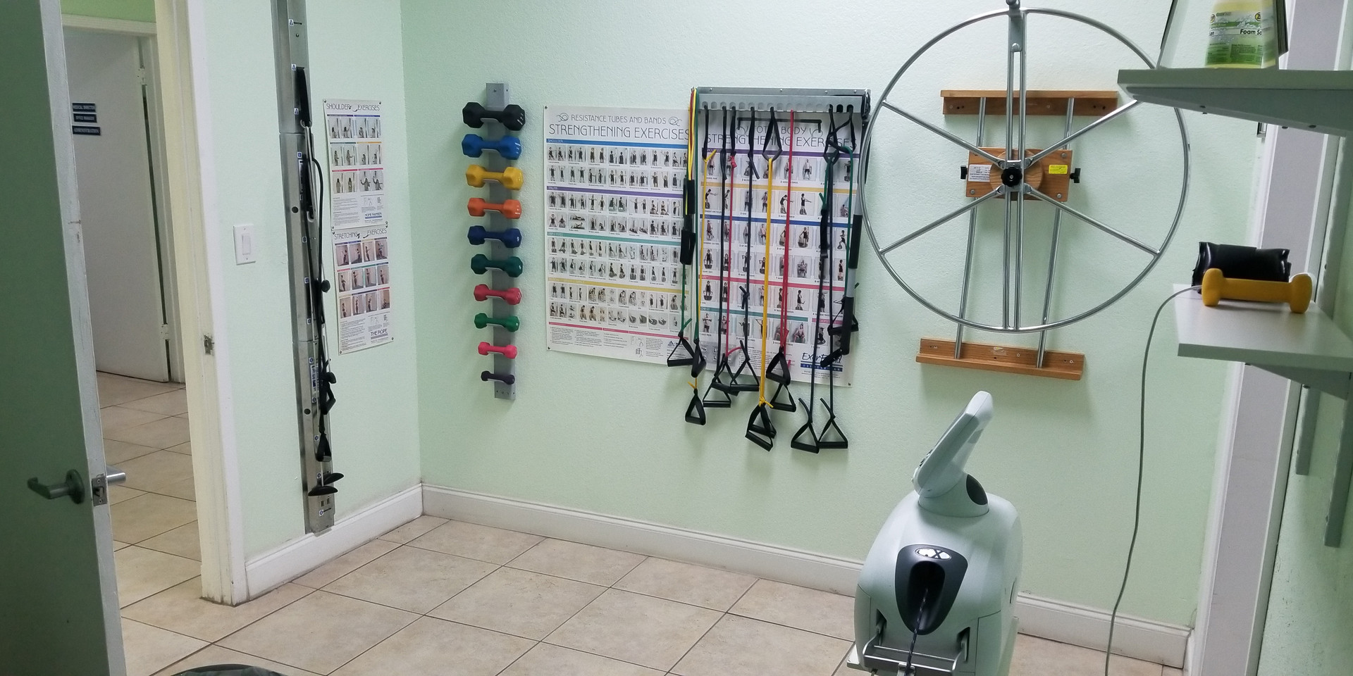 One of our physical theraphy areas.