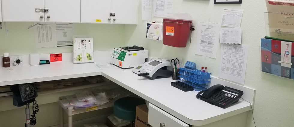 The equipment in our laboratory.