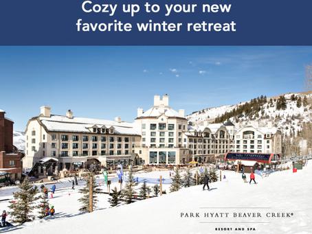 Get away to this luxury mountain resort!
