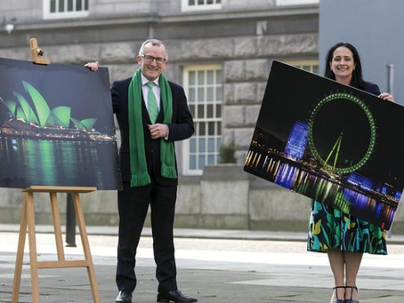 Our World Goes Green for St Patrick's Day 2021