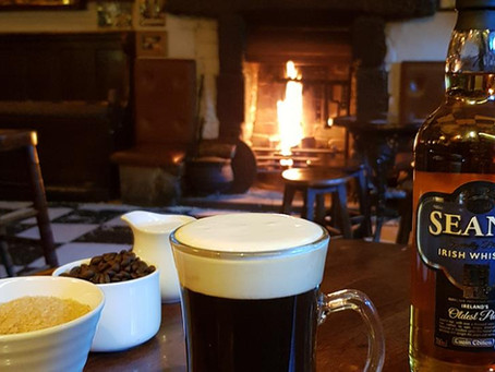 Perfect Irish Coffee for St Patrick's Day