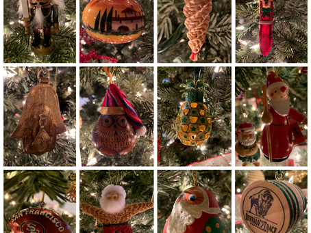 Relive Your Travel Memories with Christmas Ornaments