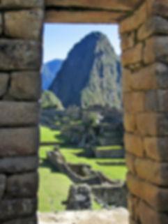 Sunny day in Machu Picchu, Peru