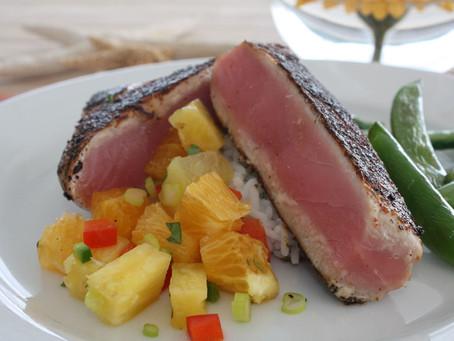 Taste of BVI: Zingara Blackened Seared Tuna Recipe