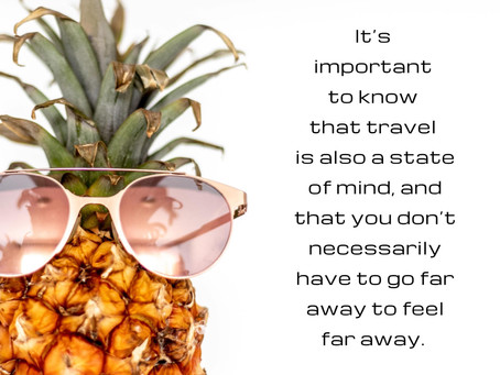 Self-Care Sunday: Travel is a State of Mind
