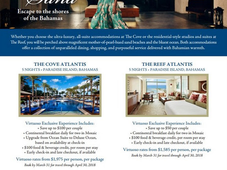 Escape the Cold with 5 Nights in Atlantis