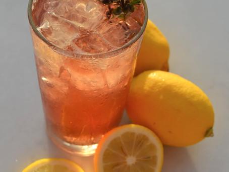 Taste of the Tropics: Fuchsia Lemonade