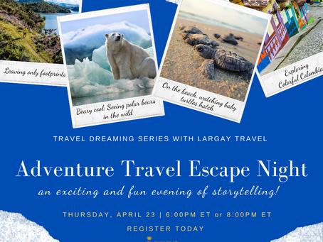 Adventure Travel Escape Night