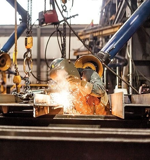 Welding services at Fluor Driver