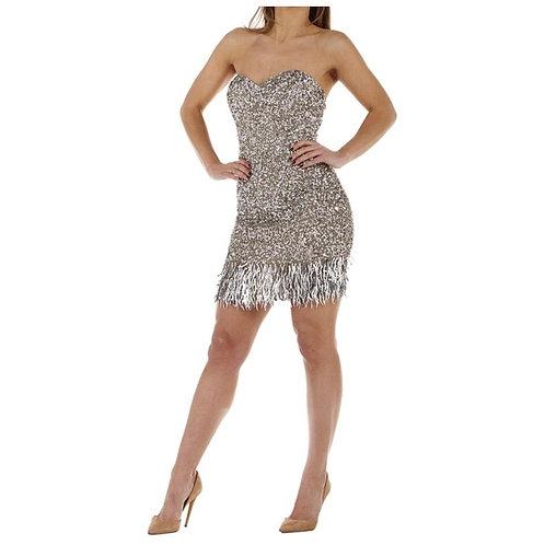 LEONA GLITTER DRESS