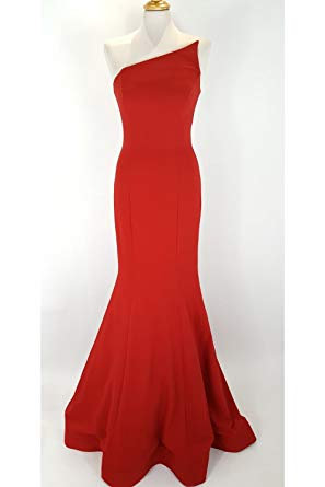 Pia Michi Red Bustier Dress