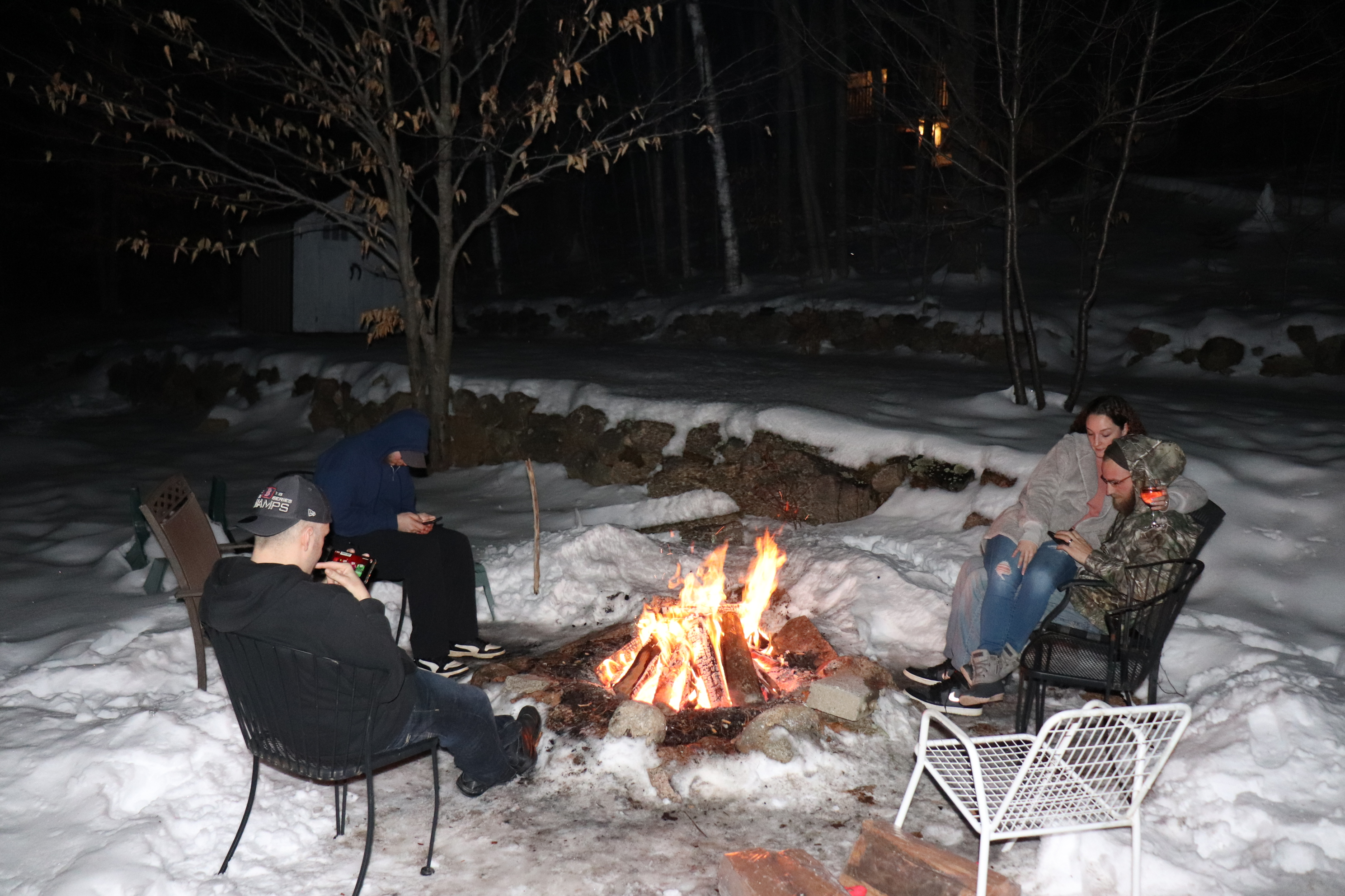 Firepit Winter