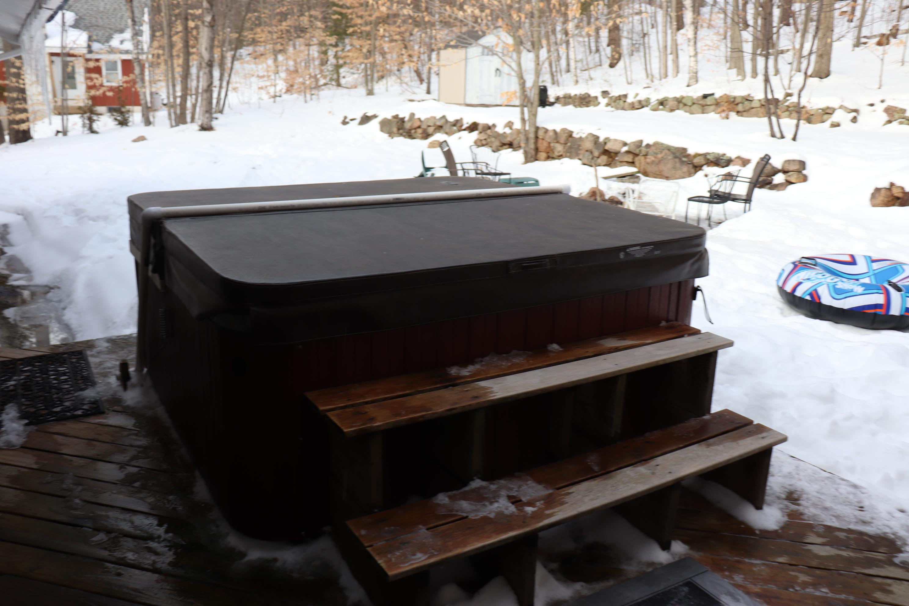 Hot Tub Winter