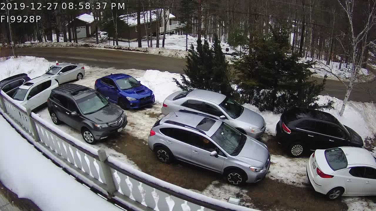 Driveway Parking Winter