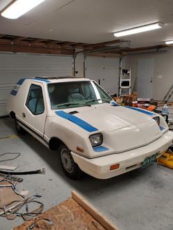 Unique Mobility Electrek Panel Van