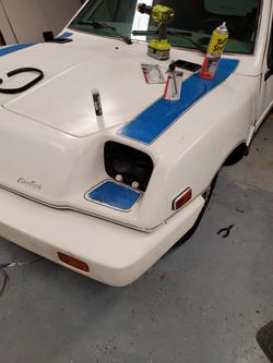 Unique Mobility Electrek Panel Van headlight fix