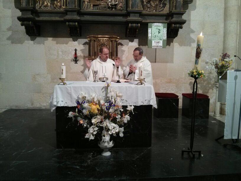 Padre Txetxu y Padre Miguel Angel