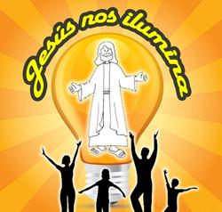 Jesus nos iluminaCartel