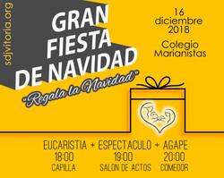 FIESTA DE NAVIDAD SDJ 2018