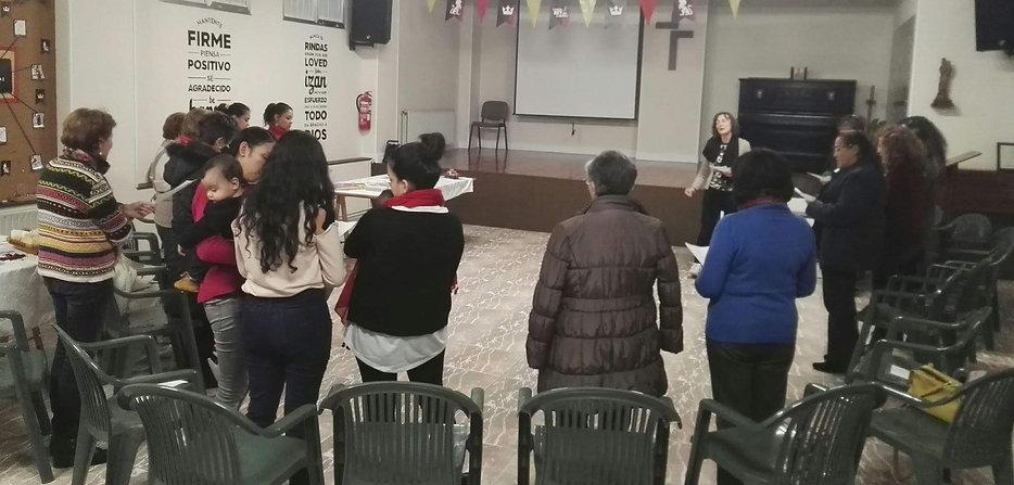2017.11.21 - Tarde Evangelística de Hnas