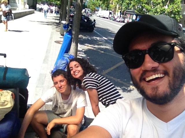 Selfie de camino